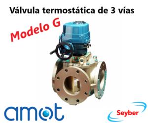 Válvula termostática AMOT de 3 vías (Modelo G)