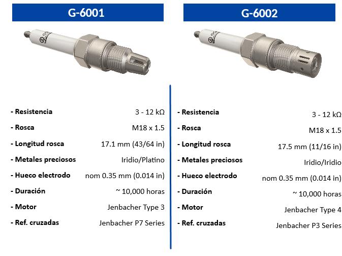 G-6001, G-6002